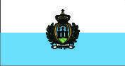 Флаг Сан-Марино 0,9х1,2 м. шелк