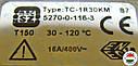MMG 3/120*C термостат TC-1R30KM (Венгрия), фото 3