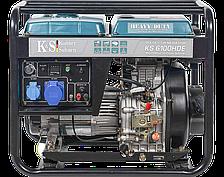 Дизельная электростанция Konner&Sohnen KS 6100 HDE (5,5 кВт)
