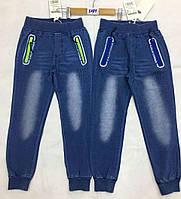 Брюки с имитацией джинсы для мальчиков F&D оптом, 8-16 лет.