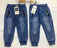 Брюки с имитацией джинсы  для мальчиков F&D оптом, 1-5 лет.