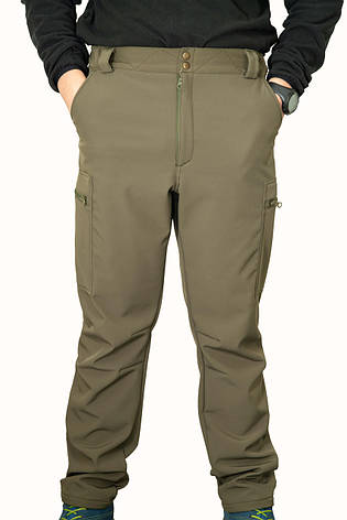 ШТАНИ SOFT SHELL OUTLANDER OLIVE, фото 2