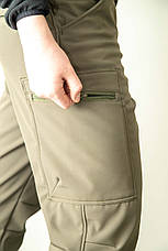 ШТАНИ SOFT SHELL OUTLANDER OLIVE, фото 3