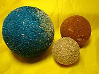 Кольорові ошурки для об'ємної аплікації . Робимо планети сонячної системи