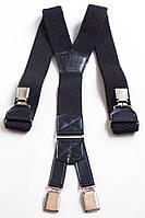 Черные мужские подтяжки York Style