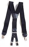 Черные мужские подтяжки York Style , фото 5