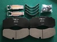 Колодки гальмівного диска (к-т на вісь) BPW, DAF XF95, IVECO, MB Actros,SAF,SCANIA (в-во Lumag)