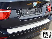 Накладка на бампер BMW X6 2008- / БМВ X6 Nataniko, фото 1