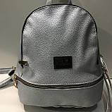Рюкзак стильный MOSCHINO кожзам., фото 2
