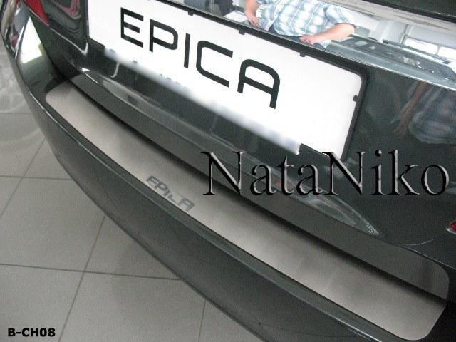 Накладка на бампер Chevrolet EPICA 2006- / Шевролет Епика Nataniko, фото 1