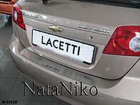 Накладка на бампер Chevrolet LACETTI 5D 2004- / Шевролет Лачетти Nataniko, фото 1