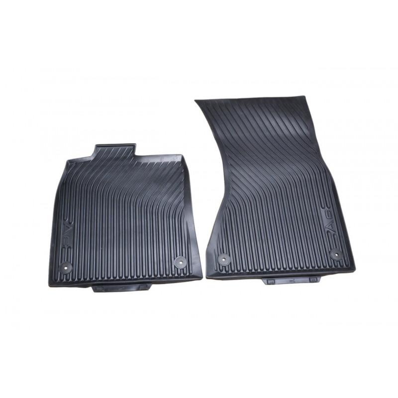 Оригинальные передние резиновые коврики Audi A6 (C7), артикул 4G1061501041