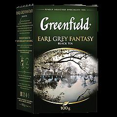 "Чай черный Greenfield  ""Earl Grey Fantasy"" 100гр Бергамот"
