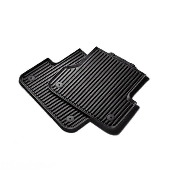Оригинальные задние резиновые коврики Audi A6 (C7), артикул 4G0061511041