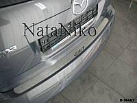 Накладка на бампер Mazda CX-7 2007- / Мазда Сх7 Nataniko, фото 1
