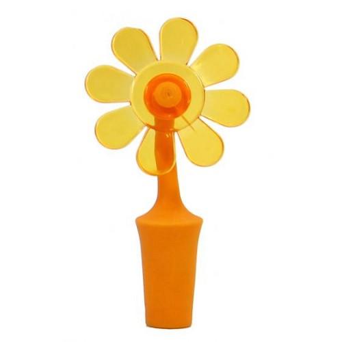 Пробка для бутылки, цветок, оранжевый