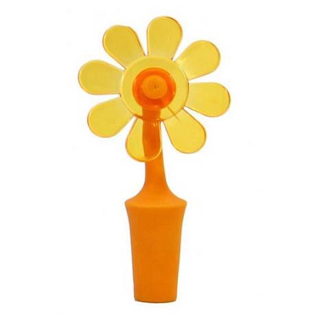 Пробка для бутылки, цветок, оранжевый, фото 2