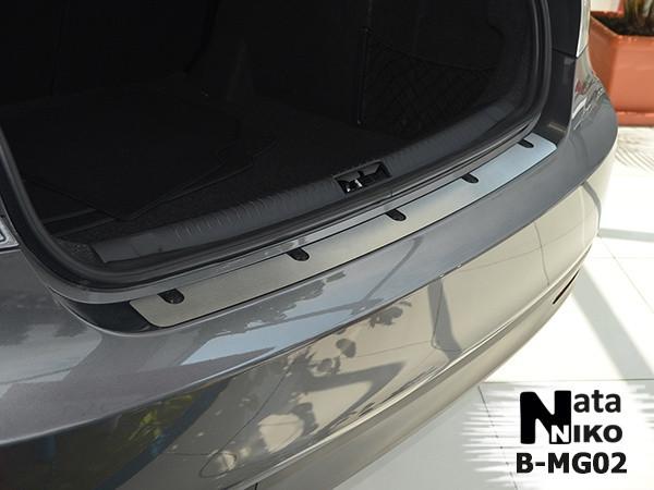 Накладка на бампер MG MG 6 4D 2013- / МГ 6 Nataniko, фото 1