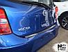 Накладка на бампер Nissan MICRA IV 5D 2010- / Ниссан Микра Nataniko