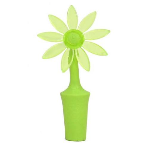 Пробка для бутылки, цветок, зеленый