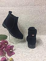 Женские ботиночки из натуральной замши