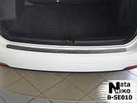 Накладка на бампер Seat IBIZA IV COMBI 2010- / Сеат Ибица Nataniko, фото 1