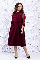 Кд91059 Женское платье батал