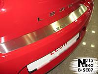 Накладка на бампер Seat LEON II 2005- / Сеат Леон Nataniko, фото 1