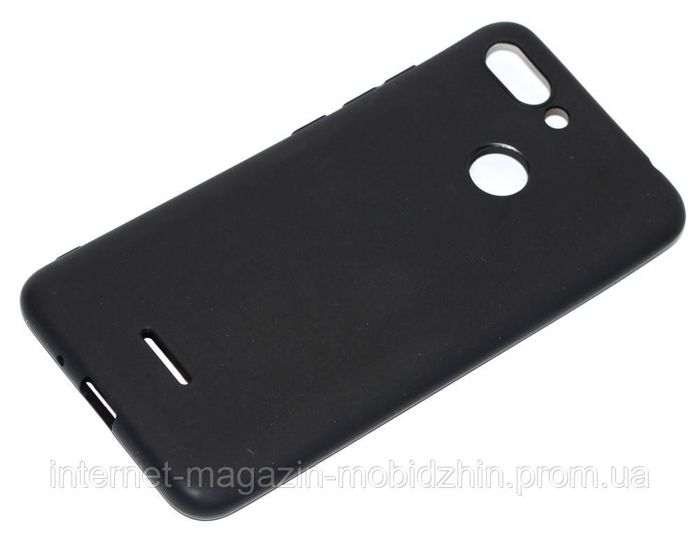 Чехол силиконовый Xiaomi Redmi 6 черный Premium Cool