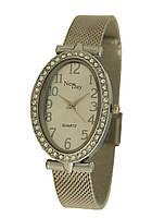 Часы женские на браслете из нержавеющей стали