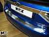 Накладка на бампер Subaru IMPREZA III 2007- / Субару Импреза Nataniko