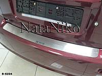 Накладка на бампер Suzuki SX4 4D 2006- / Сузуки СХ4 Nataniko, фото 1