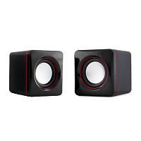 Акустическая система 2.0 HQ-Tech HQ-SP04U Black-Red