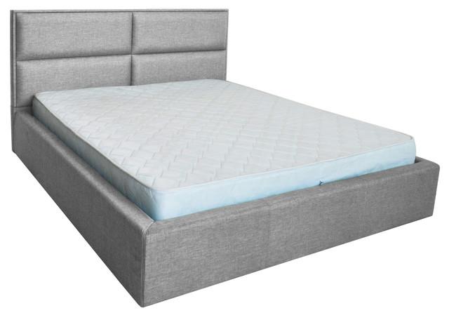 Кровать двуспальная Шеффилд (ткань Люкс плаза 84)
