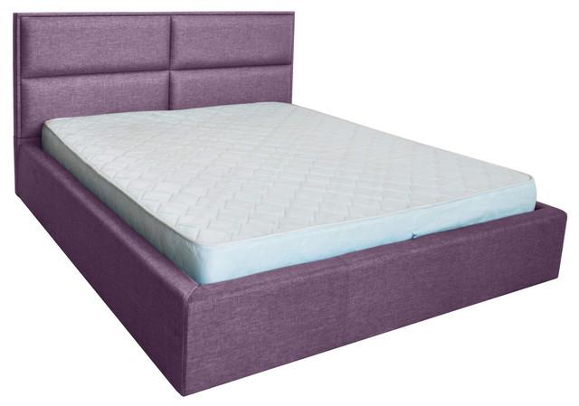 Кровать двуспальная Шеффилд (ткань Люкс плаза 90)