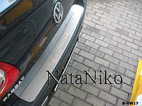 Накладка на бампер Volkswagen PASSAT B6 4D 2005- / Фольксваген Пассат Nataniko, фото 1