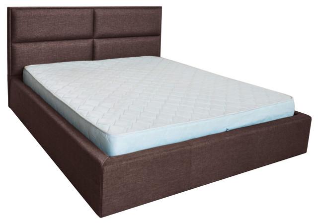 Кровать двуспальная Шеффилд (ткань Люкс плаза 97)