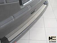 Накладка на бампер Volkswagen TRANSPORTER T5 2003- / Фольксваген Транспортер Т5 Nataniko, фото 1