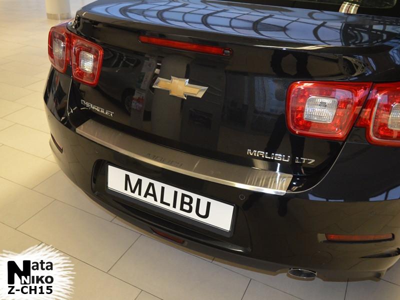 Накладка на бампер  Chevrolet MALIBU VIII 2012- / Шевролет Малибу Nataniko, фото 1