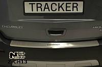 Накладка на бампер  Chevrolet TRACKER 2013- / Шевролет Трекер Nataniko, фото 1