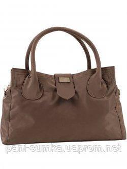 Дорожня, спортивна сумка - саквояж Epol 23602 мала коричнева