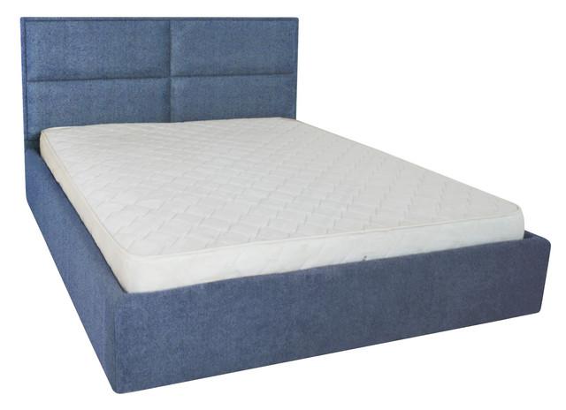 Кровать двуспальная Шеффилд (ткань плаза 36)
