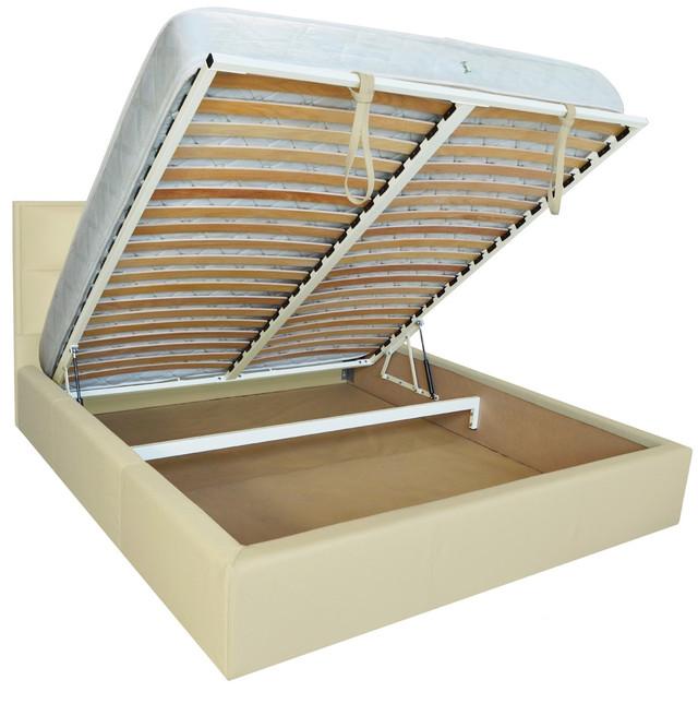 Кровать двуспальная Шеффилд (ткань флай 2207) фото 3