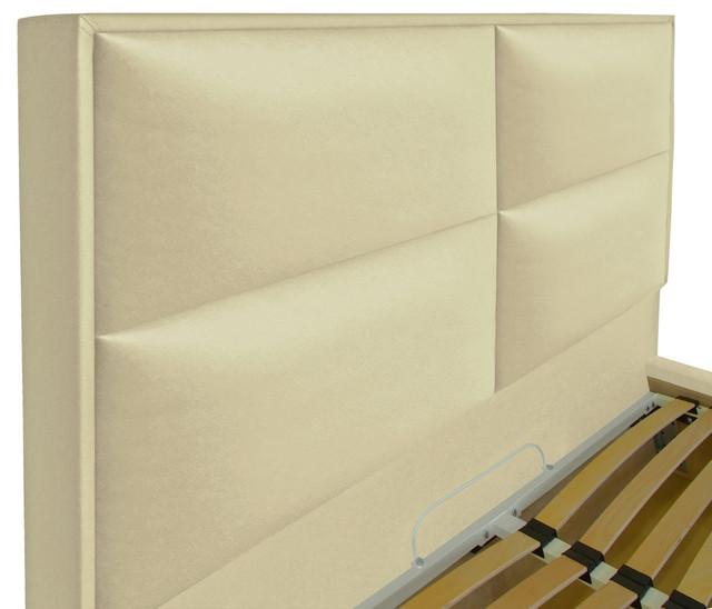 Кровать двуспальная Шеффилд (ткань флай 2207) фото 4