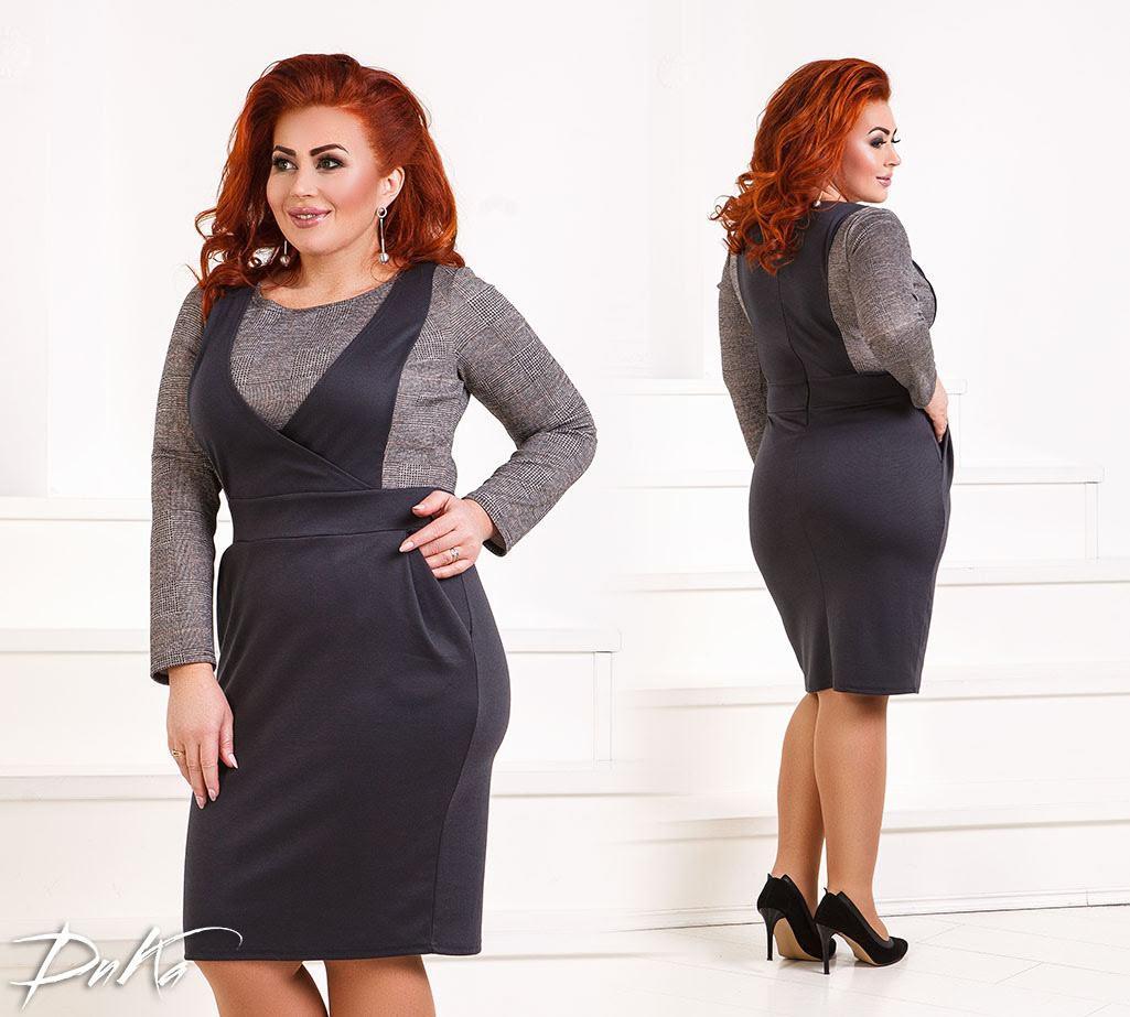 Платье женское 0245дг батал