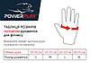 Перчатки для фитнеса PowerPlay 3092 черно-синие XL, фото 8