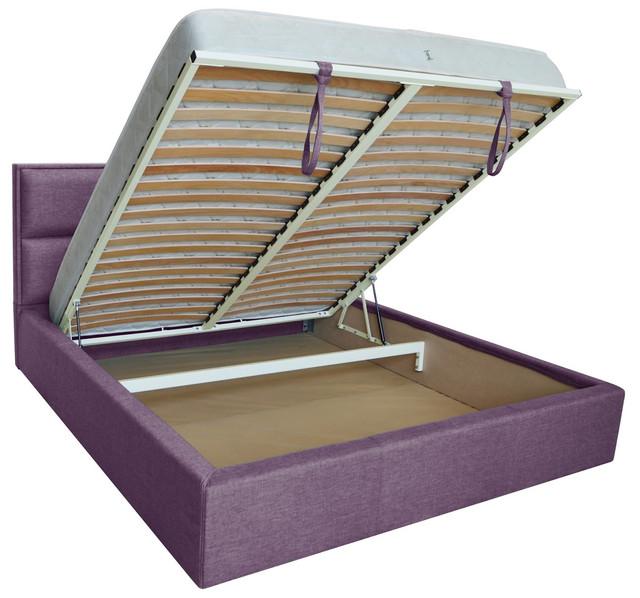 Кровать двуспальная Шеффилд (ткань Люкс плаза 90) фото 3