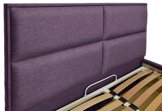 Кровать двуспальная Шеффилд (ткань Люкс плаза 90) фото 4