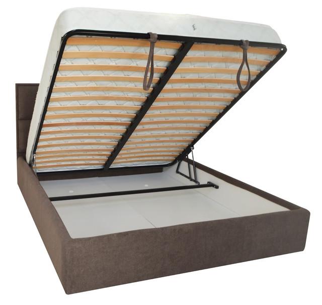 Кровать двуспальная Шеффилд (ткань Мисс 08) фото 3