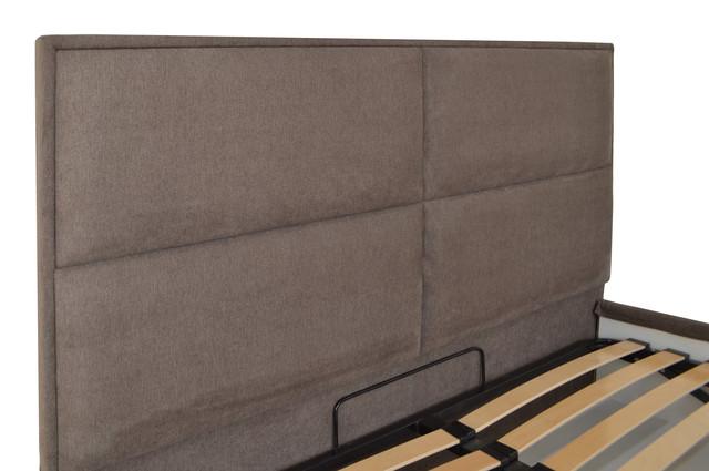 Кровать двуспальная Шеффилд (ткань Мисс 08) фото 4